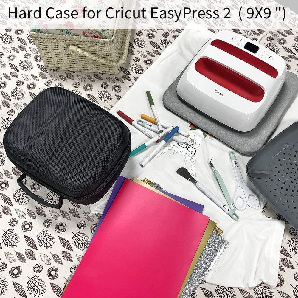 de transporte caso para cricut fácil imprensa