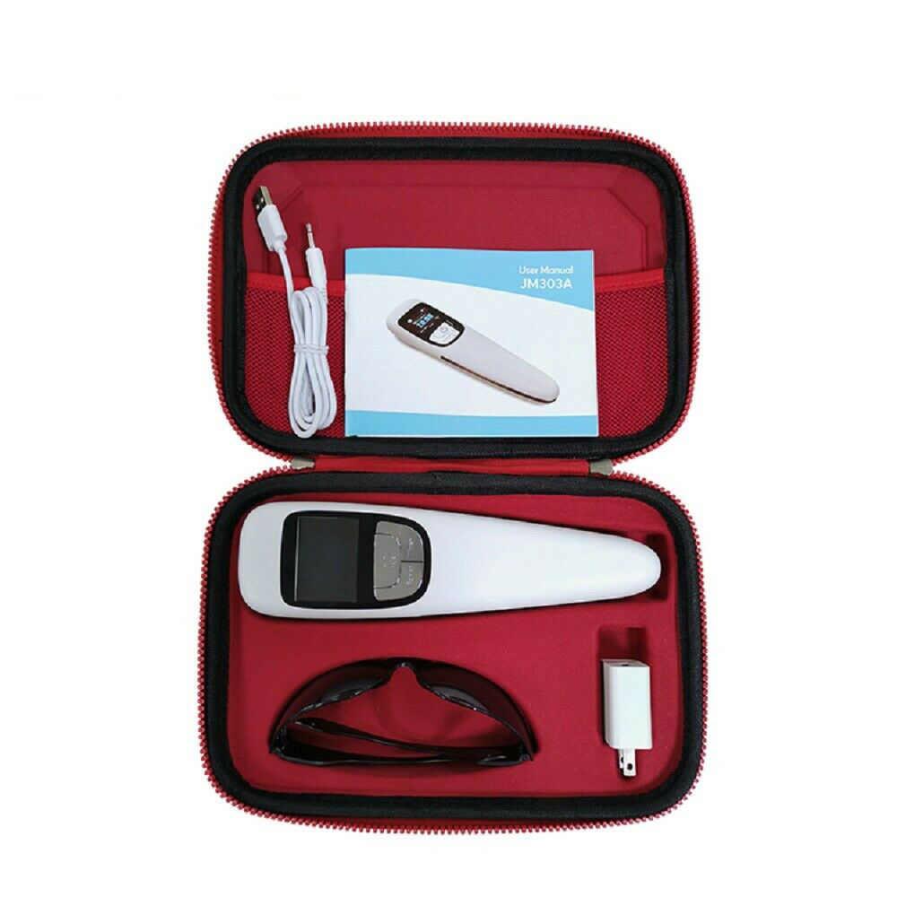 Freddo Laser Rosso Dispositivo di Terapia Della Luce Physio A Portata di mano Cura di Trattamento Laser Utile su lesioni dei tessuti Molli Tensione Muscolare Dolore