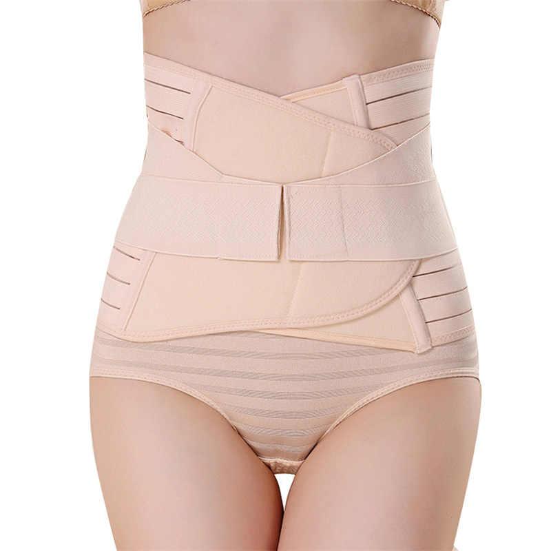 Postparto vendaje 2019 cintura poliéster postparto cinturón Abdominal maternidad banda vendaje mujeres embarazadas Control adelgazante cinturón