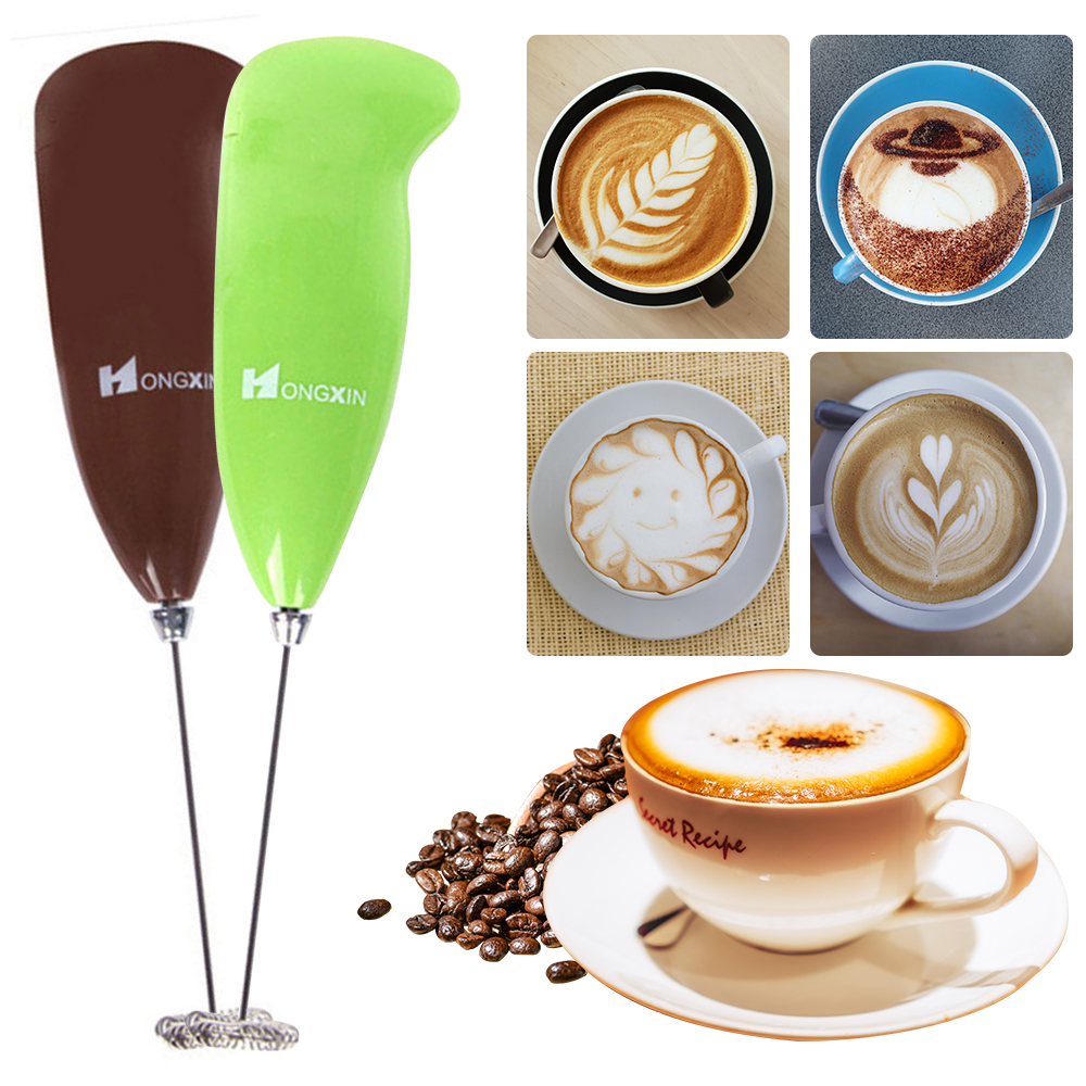 Electric Milk Frother Automatic Handheld Milk Foam Maker for…