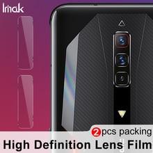 IMAK 2PCS Phone Camera Lens Protector HD Glass for Red Magic 6 6 Pro Camera Tempered Glass Protector Film Transparent