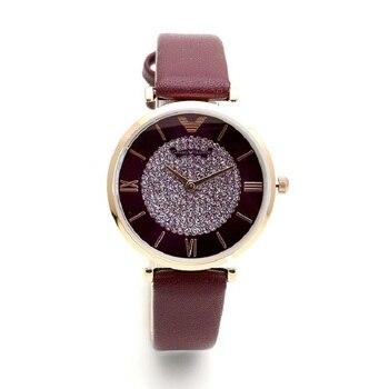 Fashion Luxury Watch Women Watches Genuine Leather Diamond Dial Womens Watches Ladies Watch Quartz Wrist Watch relogio feminino