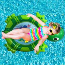 Baby Kids Beach Swimming Pool Turtle Toys Pad Outdoor Water Entertainment Gadgets Safety Floating Row Cushion Water Sports(China)