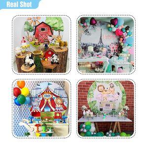 Image 5 - Funnytree fondo redondo con tapa de graduación para sesión fotográfica, papel tapiz de bebé, decoración para sesión fotográfica