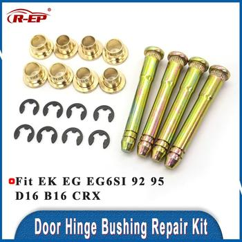R-EP Fits for Honda Civic EK EG EG6 SI 92 95 D16 B16 CRX Fit Odyssey Door Hinge Bushing Repair Kit Auto Parts image