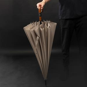 Image 5 - Длинный зонт Parachase 16K для мужчин и женщин, дождевой большой зонт в японском и деловом стиле, большой зонтик для гольфа, защита от ветра