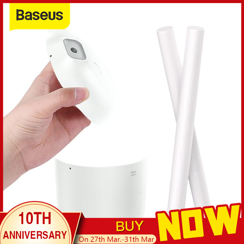Baseus 2 Pieces Humidifier Swab Humidifiers Filters Cotton Swab for USB Air Ultrasonic Humidifier Mist Maker Replace Parts