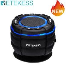 Portable Speaker Fm-Radio Retekess Waterproof Wireless Car TR622 with Suction-Cup IPX67