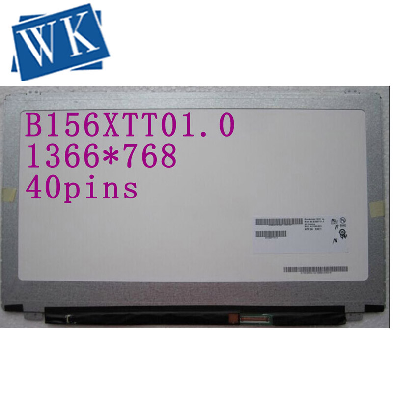 Free Shipping B156XTT01.0 LED Display With Touch Matrix For Laptop 15.6