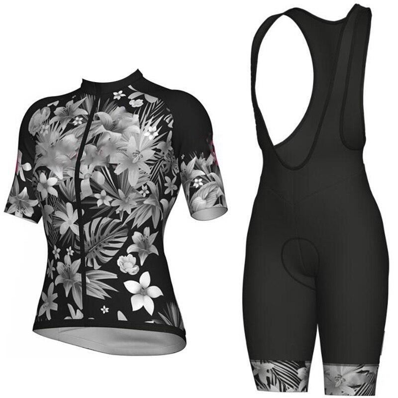 2020 Pro Cycling Jersey set petal MTB Racing Bike Clothes Summer Mountain Bicycle Clothing Cycling Set Cycling Wear|Cycling Sets| |  - title=
