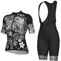 2020 Pro Radfahren Jersey set blütenblatt MTB Racing Bike Kleidung Sommer Berg Fahrrad Kleidung Radfahren Set Radfahren Tragen|Fahrrad-Sets|Sport und Unterhaltung -