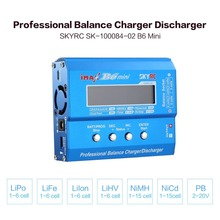 2019 SKYRC iMAX B6 MiniRC Balance Charger Discharger 60W for LiPo Li-ion LiFe Nimh Nicd Battery RC Helicopter Car Drone Airplane tcb rc drone lipo battery 4s 14 8v 2200mah 25c for rc airplane car helicopter akku 4s batteria cell free shipping