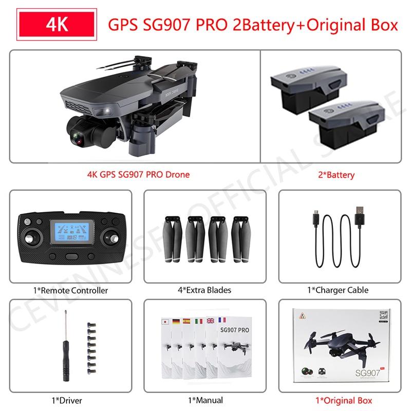 SG907 pro 4K 2B Box