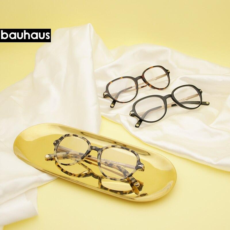 Newest Oversize Glasses Frames Metal Leg Vintage Eyeglasses Frame Women Men Plain Glasses Fashion Eyewear For Woman Man  AB1026