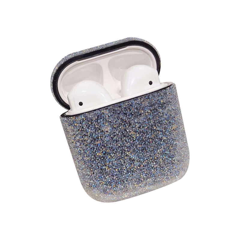 Glitter Bling Case For Airpods 3 Earphone Headset Protective Cover Plain Hard PC Case For Airpods Dust-proof Protective Box