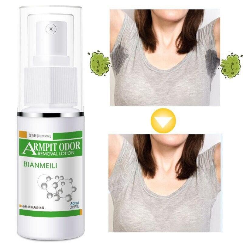 30ml Antiperspirant Deodorant Spray Long-lasting Prevent Sweating Armpit Odor Removal Lotion Remove Body Odor