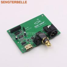 XMOS Amanero итальянский цифровой интерфейс USB к I2S/IIS, коаксиальный, SPDIF, выходная плата AES