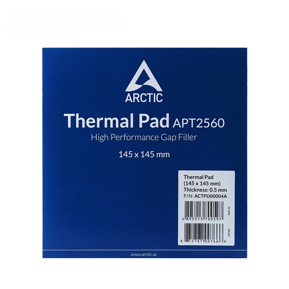 ARCTIC Thermal Pad 6.0 W/mK Conductivity 0.5mm 1.0mm 1.5mm Thermal Mat 145*145MM Thermally Conductive Adhesive 4
