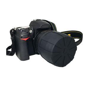 Image 3 - Anti DUST Fallproof ซิลิโคนป้องกันฝาครอบเลนส์ Protector สำหรับ Canon Nikon DSLR เลนส์กล้องอุปกรณ์เสริม