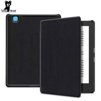 Ultra slim cover case for Kobo aura H2O edition 2 6.8 N867 2th 2017 PU leather case+free gift