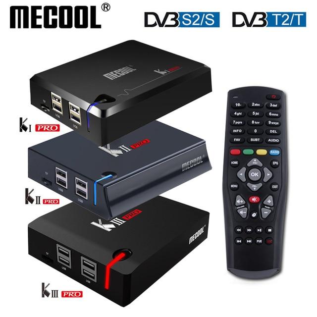 MECOOL KI Pro KII KIII Pro DVB T2 + S2 Androidกล่องทีวี 3G 16G Amlogic S912 DDR4 octa Core 4Kถอดรหัส 2.4G + 5GชุดTop Media Player
