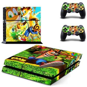 Image 5 - Crash bandicoot n sane trilogia ps4 adesivos play station 4 pele adesivo decalque para playstation 4 ps4 console & controlador peles