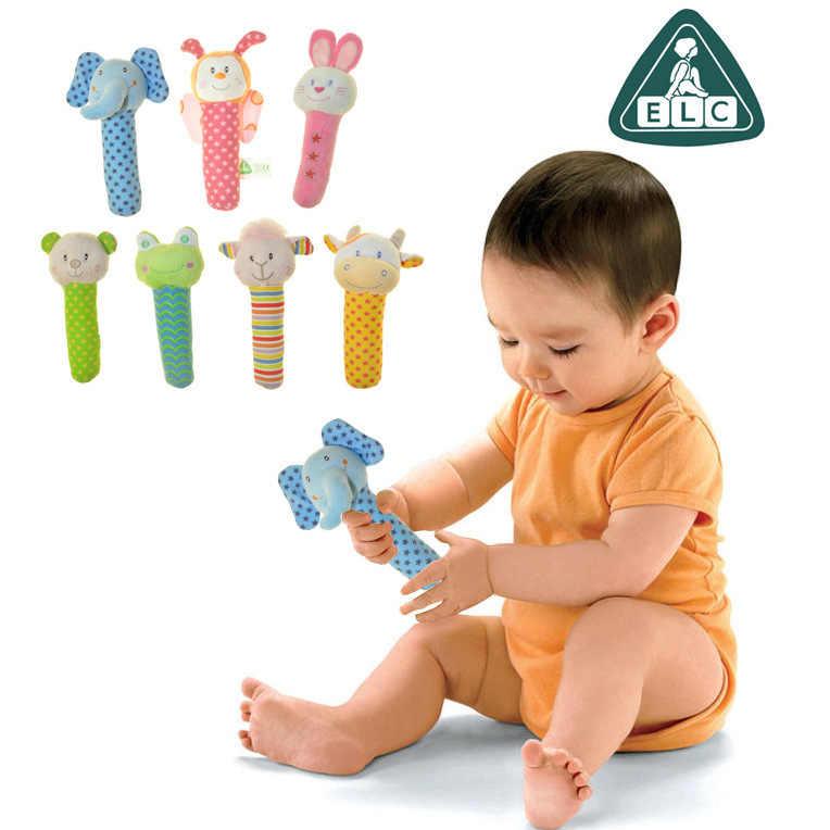 Redkite Animal mano sonajero Rod lindo modelado juguete sonajero infantil juguete de educación temprana