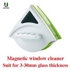 UNTIOR magnetyczne urządzenie do czyszczenia okien dwustronnie szczotka do czyszczenia szkła gospodarstwa domowego wycieraczka środek do czyszczenia szkła pędzel 3 24MM czyste w Szczotki do czyszczenia od Dom i ogród na