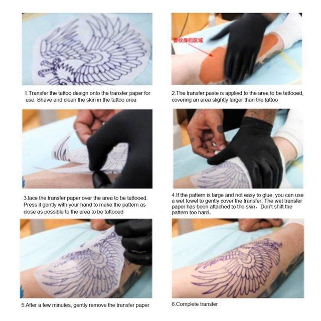 1/3/5pcs Tattoo Transfer Soap 51g Semi-permanent Eyebrow Lip Eyeline Professional Tattoo Transfer Tattoo Stencil Primer Supplies 5