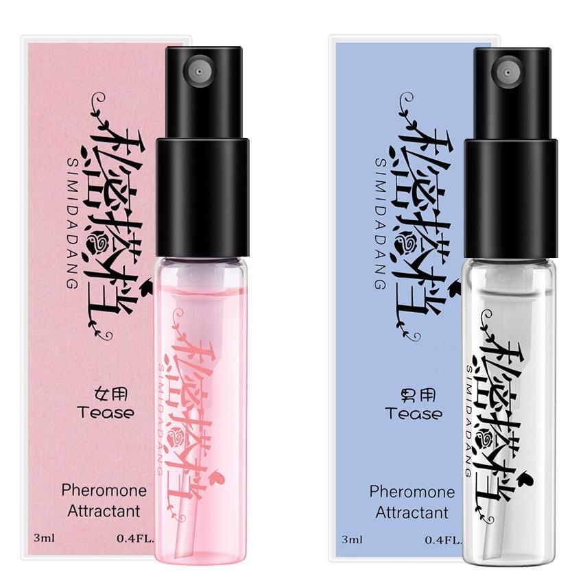 3ML Pheromone Perfume Aphrodisiac Woman Orgasm Body Spray Flirt Perfume Attract Girl Scented Water for Men Lubricants for Sex