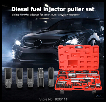 Common Rail Injector Extractor Diesel Puller Set Injection Tool For Boscch Densso Delphii Simenss