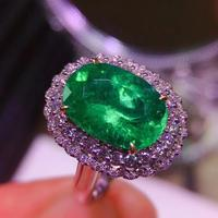 High Quality emerald ring for love yourself Free shipping 925 sterling silve Fine jewelry for Man Or Woman Gem 10*14mm
