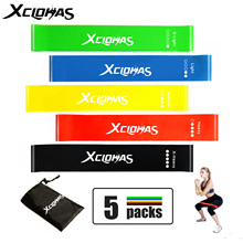 Resistance-Bands Workout-Equipment Training Rubber Stretch Muscle Loops Latex Yoga Home