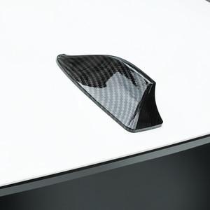 Автомобильная антенна плавник акулы из углеродного волокна сигнальные антенны для Volkswagen VW Touareg Golf 4 5 3 GTI POLO CC Passat B5 B6 B7