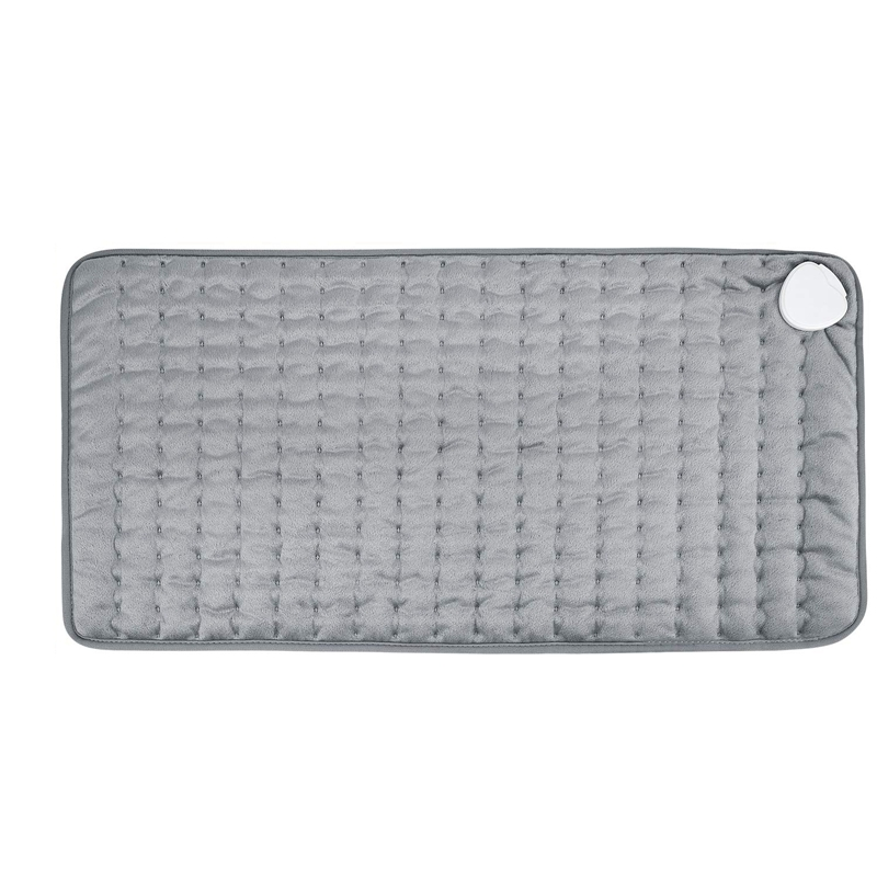 Promotion! Heating Pad  Electric Heat Pad for Back Pain and Cramps Relief   Electric Fast Heat Pad with 6 Heat Settings Moist He Electric Blankets     - title=