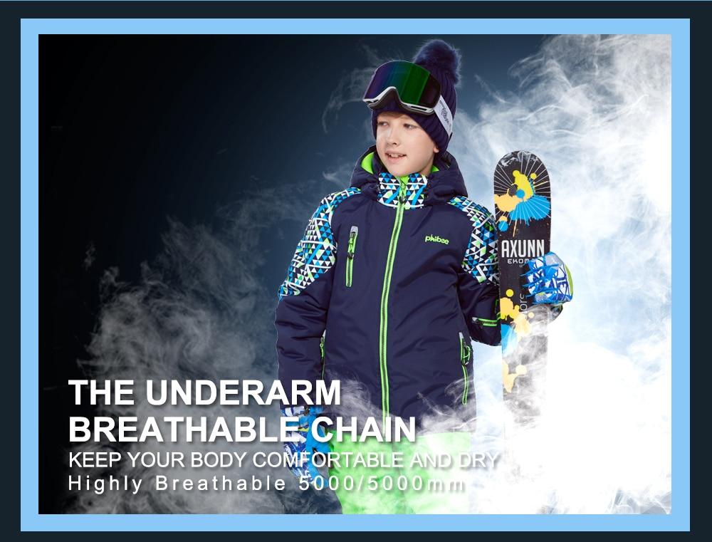 boys gore tex ski jacket