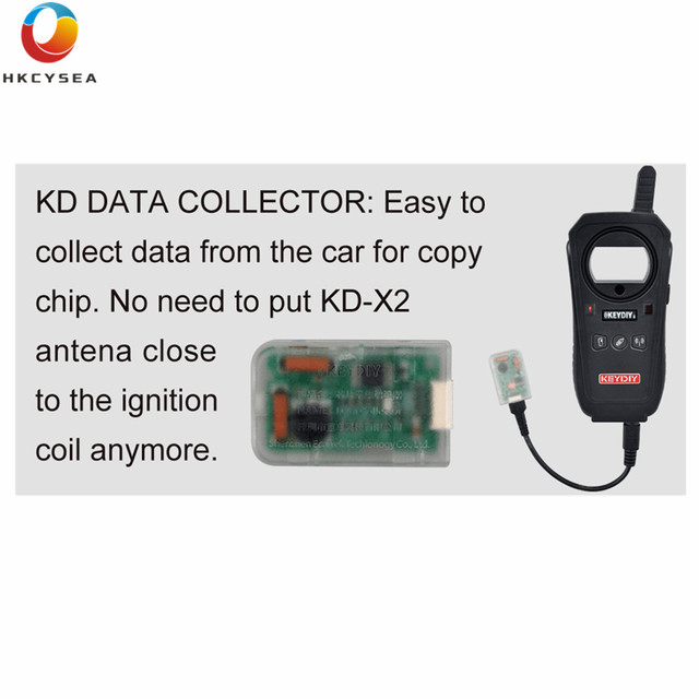 HKCYSEA KD Data Collector Easy to collect data from the car for copy chip