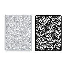 Naifumodo листья рамка штампы металлические Вырубные штампы для изготовления открыток Скрапбукинг тиснение вырезания трафарет ремесло штампы Рождественский Декор