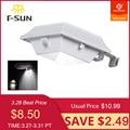 T SUN Solar Gutter Licht PIR Motion Sensor Lampe Wasserdichte IP44 Outdoor 12 LED Solar Licht für Garten Garage 6000K kalt Weiß-in Solarlampen aus Licht & Beleuchtung bei