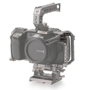 Image 2 - Tilta TA SRA 15 G 15mm צד יחיד מוט בעל מוט מתאם עבור Tilta bmpcc 4k 6K כלוב TILTA gh5 כלוב A7 כלוב 5d כלוב