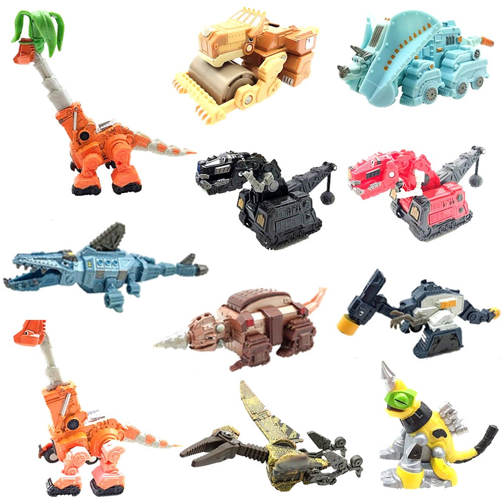 Dinotrux Dinosaur CAR Truck Removable Dinosaur Toy Car Mini Models Children's Gifts Toys Dinosaur Models  Child Toys