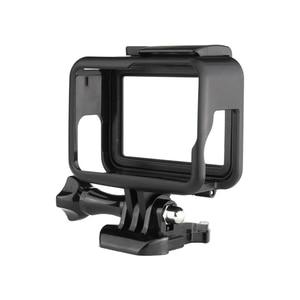 Image 4 - עבור GoPro 7 אבזר ערכת הגנת מסגרת עדשה + LCD מסך מזג זכוכית סרט עבור ללכת פרו גיבור 5 6 7 פעולה מצלמה