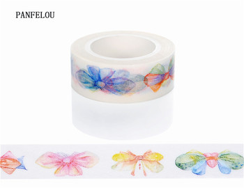 10M*10mm little bowknot Sticker Washi Masking tape Quality good price HOT sell  DIY Scrapbook Embellishments Decoration