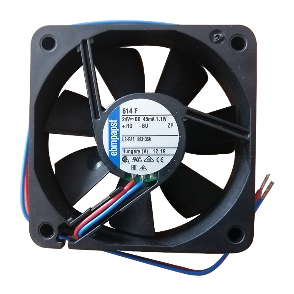TYP 614F Original Ebmpapst High-end Silent Cooling Fan 24V 1.1W 6015 New Fan
