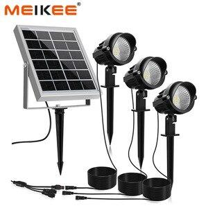 Image 1 - 3 في 1 في الهواء الطلق LED ضوء الشمس IP66 مقاوم للماء إضاءة ليد تعمل بالطاقة الشمسية مصباح مصباح إنارة غامرة خارجي لحديقة فناء المناظر الطبيعية الحديقة