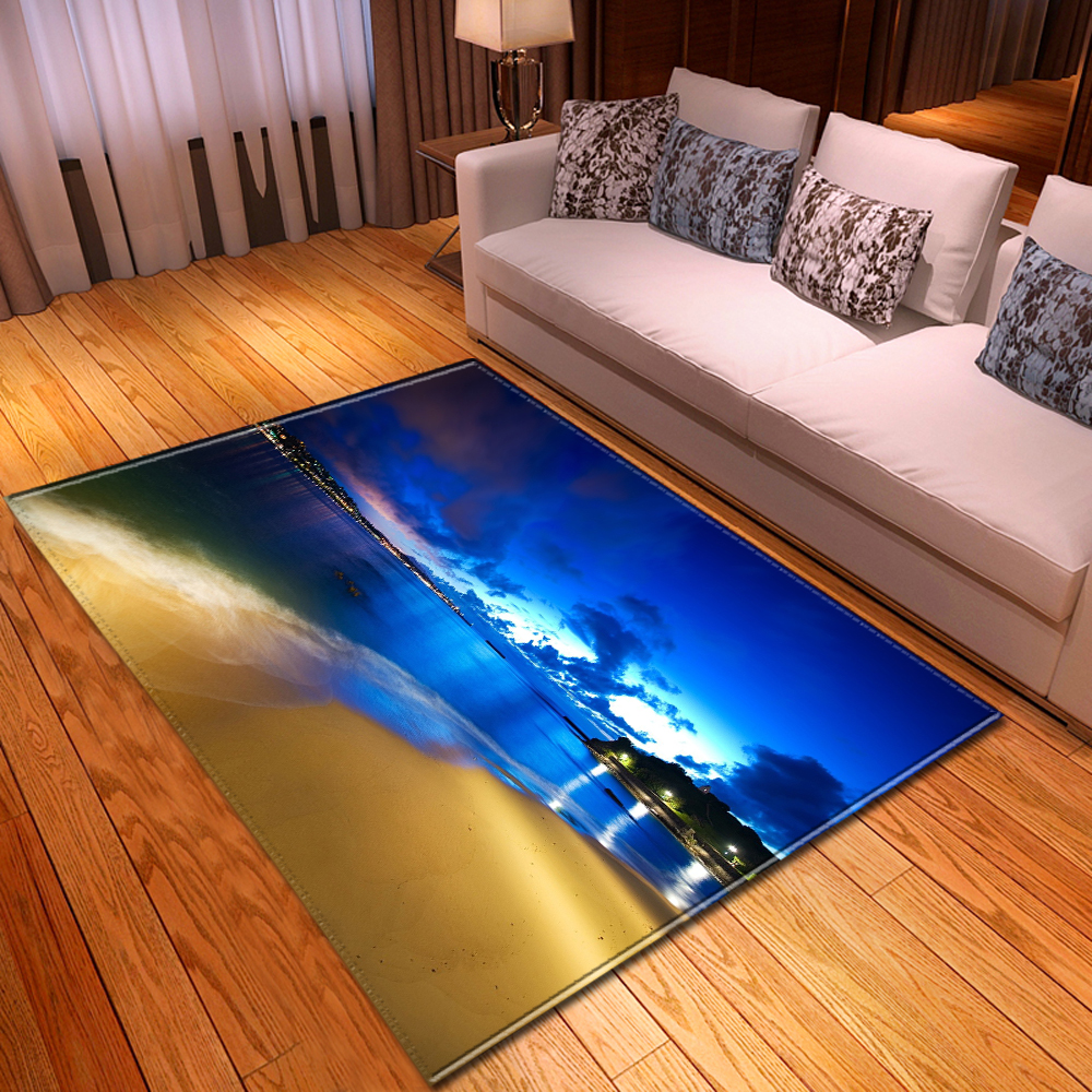 Fashion 3D Galaxy Planet Carpets Dining Room Home Decorative Boys Room Area Rug Kids Play Mat Rug Carpet For Home Living Room