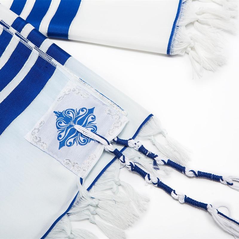 Image 5 - 140x190cm Tallit  Jewish Prayer scarf big size Tallits Star of DavidMens Scarves   -
