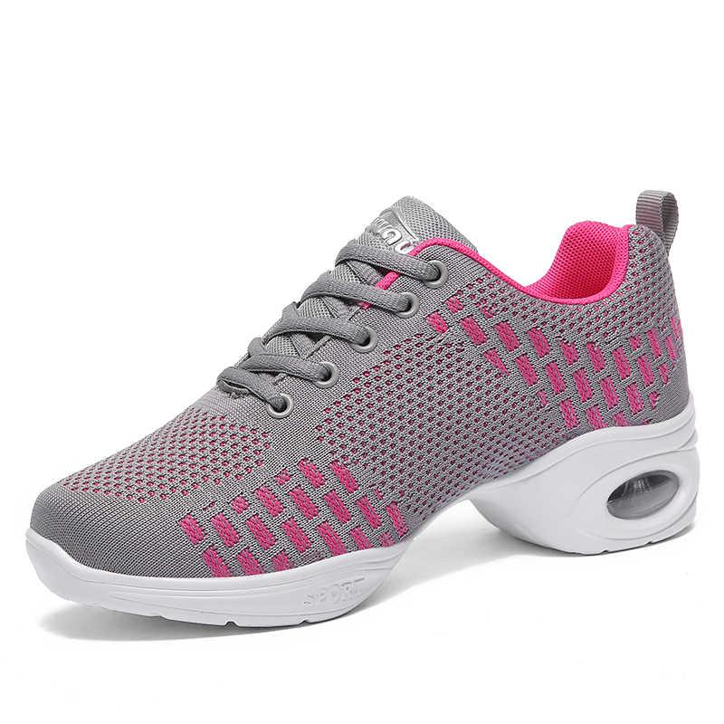 Damyuan Flats ayakkabı kadın düz renk yuvarlak kafa Zapatos De Mujer 2020 bayanlar günlük mokasen ayakkabı kadın nefes Net Sneakers