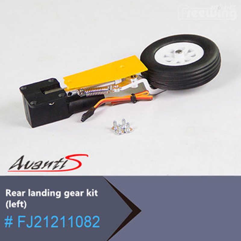 Freewing 80mm EDF Avanti S pilot zdalnego sterowania specjalne akcesoria rc części samolotu