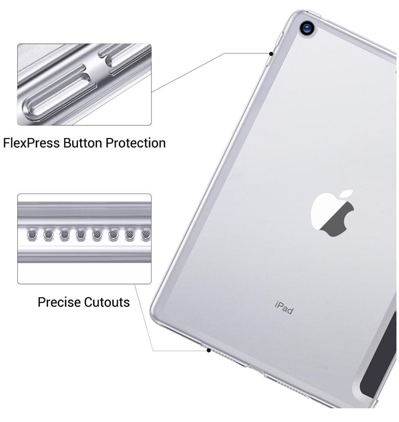 Capa de celular para ipad, para modelos ipad 2 3 4, a1395 a1430 a1458 capa para acordar para ipad 4 2 3 4